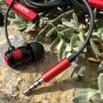 Klinkenstecker der AUKEY In-Ear-Kopfhörer EP-C2
