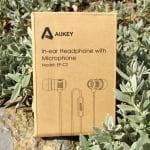 Verpackung der AUKEY EP-C2 In-Ear Kopfhörer