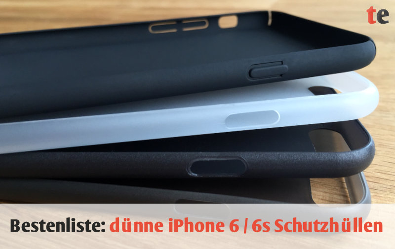 Bestenliste: Die 4 dünnsten iPhone-Schutzhüllen