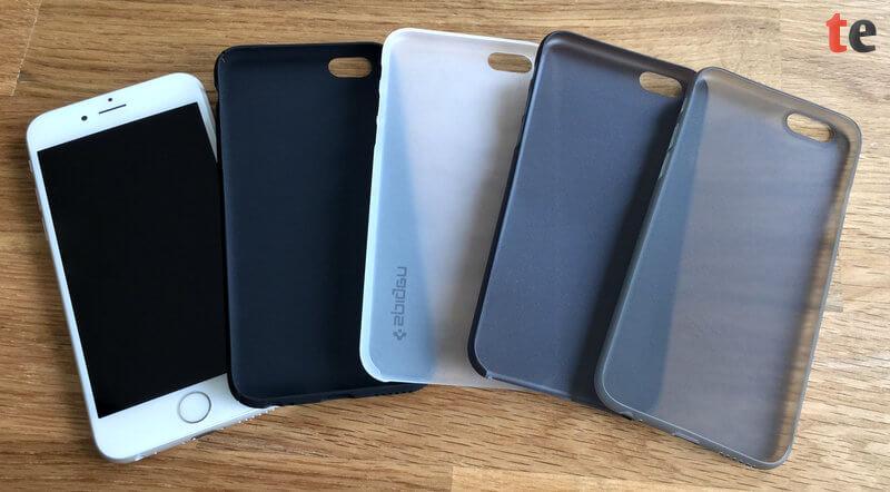 Die getesten iPhone-Cases bieten einen guten Schutz gegen Kratzer, können jedoch einen Sturz des Smartphones nicht sonderlich gut abfedern.