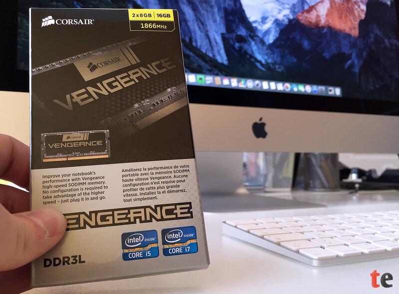 iMac Retina 5K Arbeitspeicher Corsair Vengeance