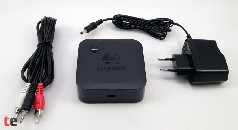 Logitech Wireless Speaker Adapter mit Zubehör