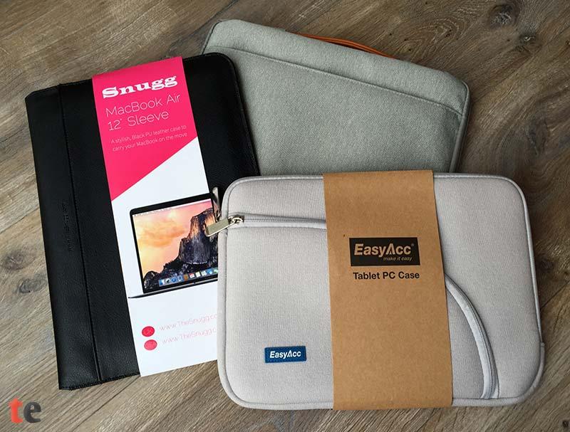 Die EasyAcc-Tasche bietet das beste Preis-Leistungs-Verhältnis und die Snugg Kunstledertasche hinterlässt den wertigsten Eindruck. Die Inateck Tasche hat jedoch die besten Schutzeigenschaften, gepaart mit einer großen Seitentasche und einem ziemlich praktischen Tragegriff.