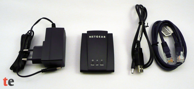 netgear wnce2001 universal wlan internet adapter im test. Black Bedroom Furniture Sets. Home Design Ideas