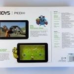 Odys Pedi Plus Kinder Tablet Verpackung von hinten