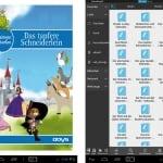Odys Pedi Plus Kinder Tablet beiliegende Gebrüder Grimm Märchen als eBooks