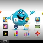 Odys Pedi Plus Kinder Tablet Screenshot vom Startbildschirm
