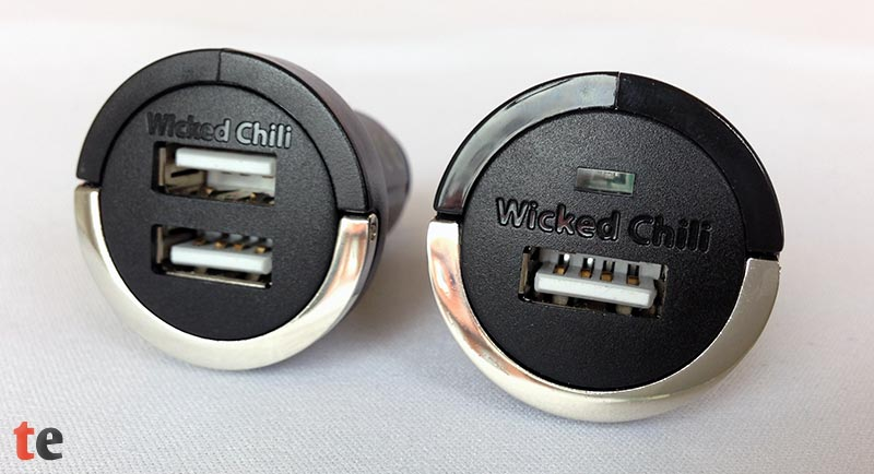 Wicked Chili Tiny und Dual KFZ USB-Ladeadapter
