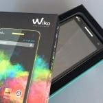 Wiko Rainbow in der Verpackung