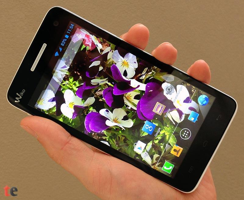 Wiko Rainbow Display: hochwertiges 5 Zoll HD-Display mit IPS-Technologie