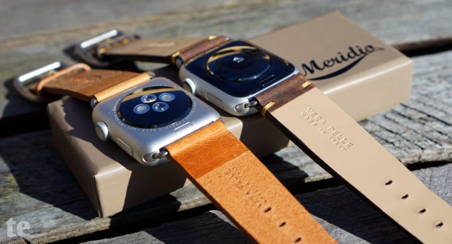 Apple Watch Lederarmband Anschlüsse