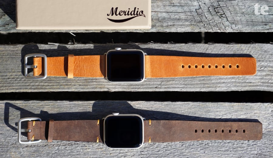 Hochwertige Apple Watch Lederarmbänder von Meridio