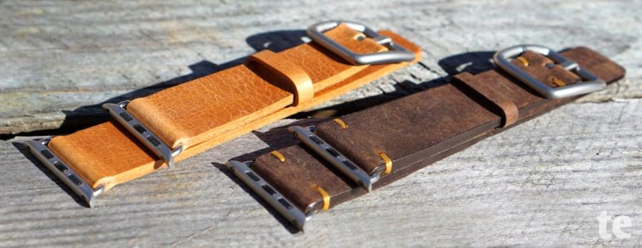 Armband-Anschlüsse der Meridio Lederarmbänder sind von hochwertiger Qualität
