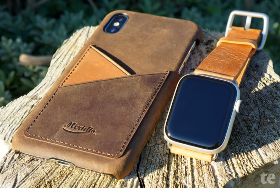 Meridio iPhone Leder-Case Modell Cigar