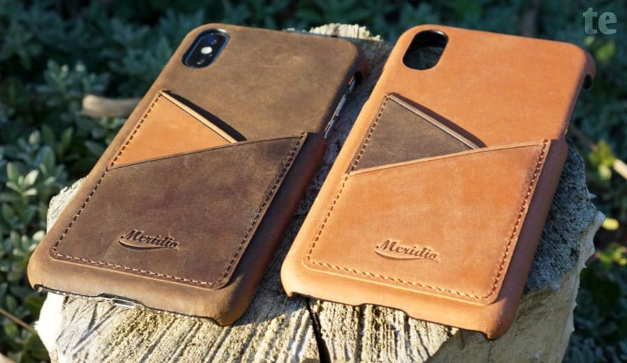 Meridio iPhone Schutzhüllen-Modelle Cigar und Barrel