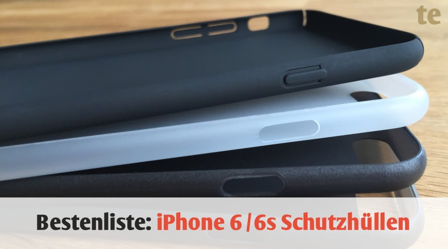 Bestenliste: Die 4 dünnsten iPhone 6 / 6s Schutzhüllen