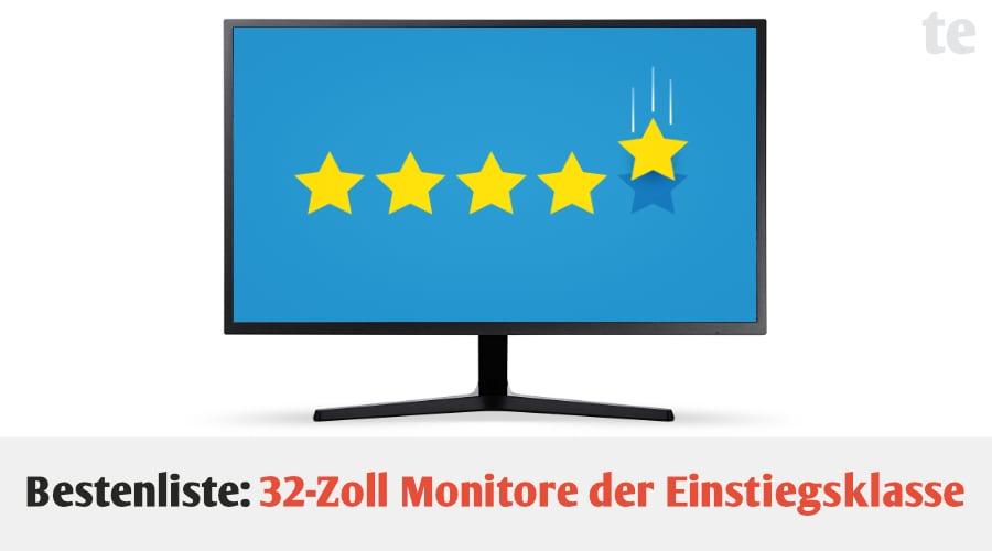 Bestenliste: Die 4 besten 32-Zoll Monitore der Einstiegsklasse