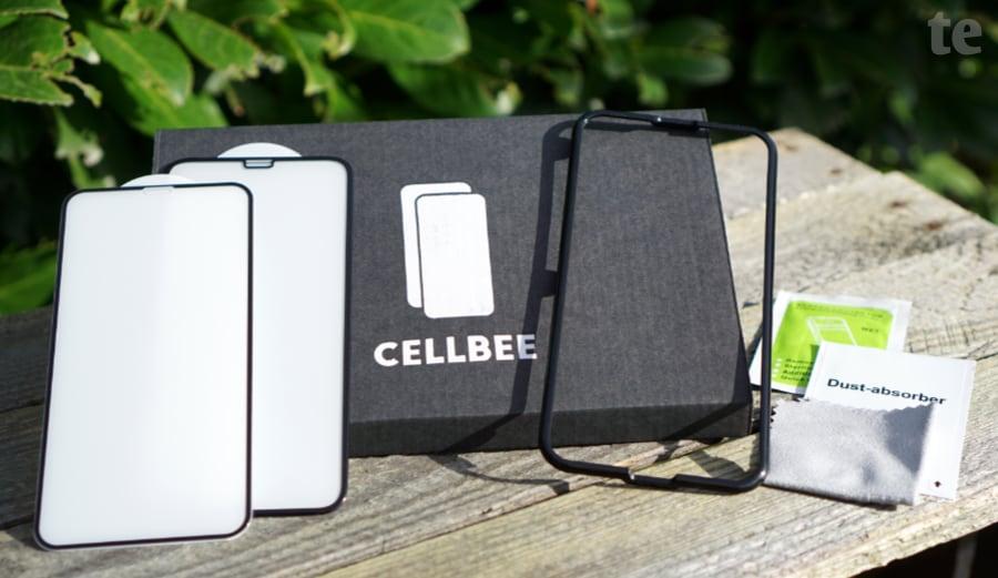 iPhone-Displayschutzglas von CellBee im Test