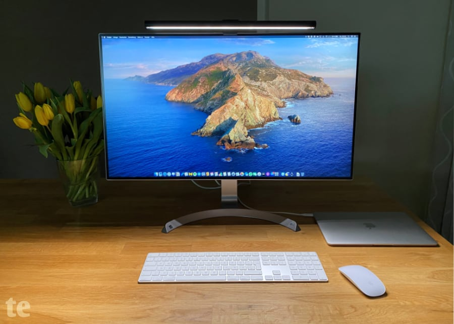 BenQ ScreenBar blendfreie LED-Schreibstischlampe für den Monitor