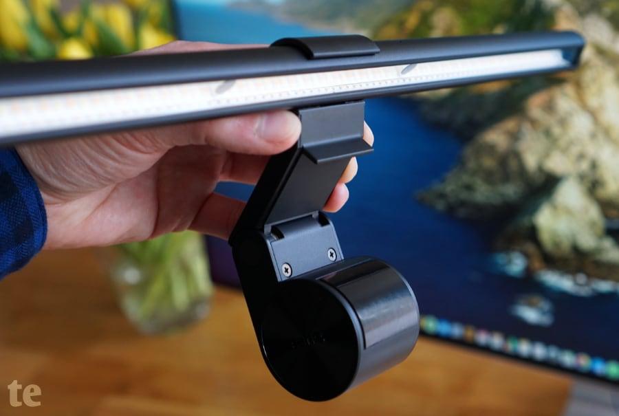 BenQ ScreenBar LED-Schreibtischlampe von unten